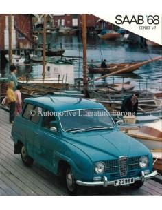 1968 SAAB 96 BROCHURE NEDERLANDS