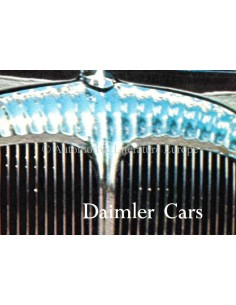197? DAIMLER RANGE BROCHURE ENGLISH
