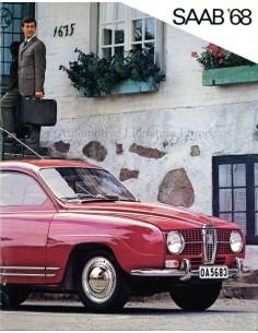 1968 SAAB BROCHURE DUTCH