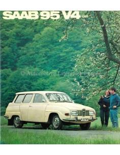 1969 SAAB 95 V4 BROCHURE DUTCH