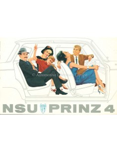 1962 NSU PRINZ 4 BROCHURE DUTCH