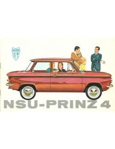 1962 NSU PRINZ 4 PROSPEKT NIEDERLÄNDISCH