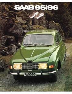 1972 SAAB 95 & 96 BROCHURE DUTCH