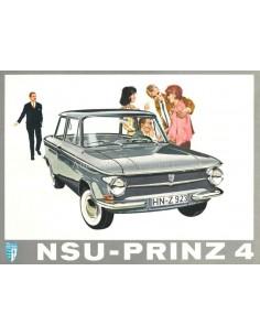 1961 NSU PRINZ 4 PROSPEKT NIEDERLÄNDISCH