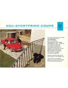 1963 NSU SPORT-PRINZ COUPÉ BROCHURE DUTCH