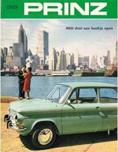 1965 NSU PRINZ 4 / 1000 / SPORT-PRINZ COUPÉ BROCHURE DUTCH