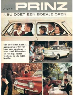 1965 NSU RANGE BROCHURE DUTCH
