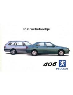 2000 PEUGEOT 406 INSTRUCTIEBOEKJE NEDERLANDS