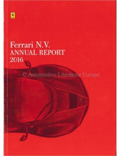 2016 FERRARI ANNUAL REPORT ENGLISH