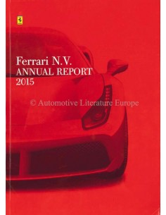 2015 FERRARI ANNUAL REPORT ENGLISH