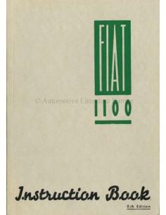 1954 FIAT 1100 BETRIEBSANLEITUNG ENGLISCH