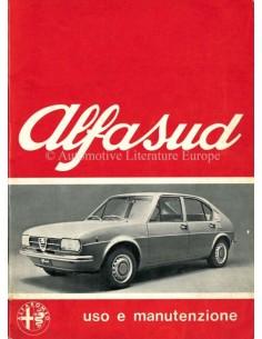 1973 ALFA ROMEO ALFASUD OWNERS MANUAL ITALIAN
