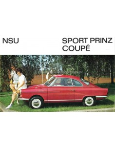1971 NSU SPORT-PRINZ COUPÉ BROCHURE GERMAN