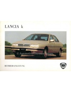 1994 LANCIA KAPPA OWNERS MANUAL GERMAN