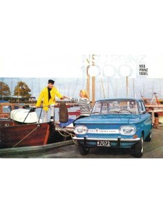 1965 NSU PRINZ 1000 L BROCHURE DUTCH