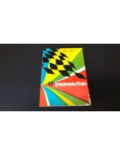 1971 42ND GRAND PRIX OF ITALY (MONZA) OFFICIAL CATALOGUE ITALIAN
