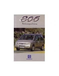 1998 PEUGEOT 806 OWNERS MANUAL GERMAN