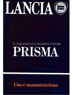 1984 LANCIA PRISMA BETRIEBSANLEITUNG ITALIENISCH