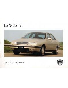 1995 LANCIA KAPPA OWNERS MANUAL ITALIAN
