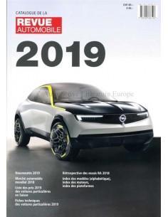 2019 AUTOMOBIl REVUE JAHRESKATALOG FRANZÖSISCH