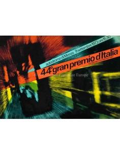 1973 44E GRAND PRIX VAN ITALIE (MONZA) OFFICIELE CATALOGUS ITALIAANS