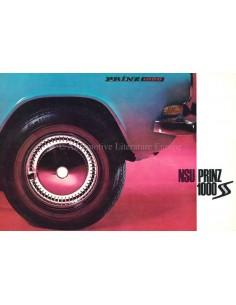 1965 NSU PRINZ 1000 S BROCHURE GERMAN