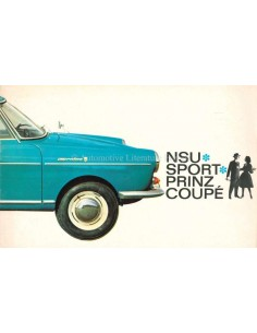1966 NSU SPORT-PRINZ COUPÉ PROSPEKT NIEDERLÄNDISCH
