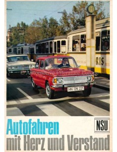 1966 NSU TYP 110 BROCHURE GERMAN