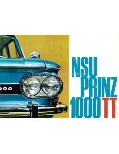 1966 NSU PRINZ 1000 TT PROSPEKT NIEDERLÄNDISCH