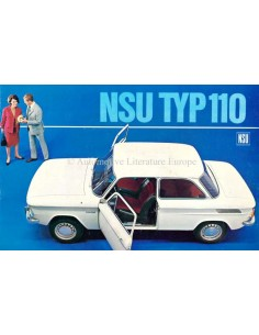 1966 NSU TYP 110 BROCHURE DUTCH