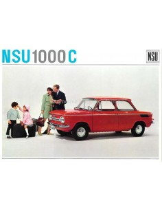 1967 NSU 1000 C BROCHURE GERMAN