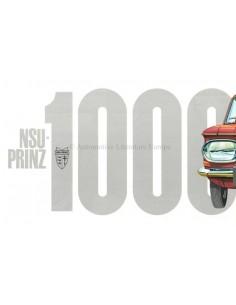 1965 NSU PRINZ 1000 BROCHURE DUTCH