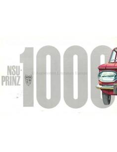 1965 NSU PRINZ 1000 PROSPEKT NIEDERLÄNDISCH