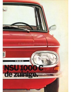 1971 NSU 1000 C BROCHURE DUTCH