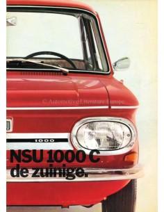 1971 NSU 1000 C PROSPEKT NIEDERLÄNDISCH