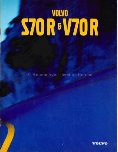 1997 VOLVO S70 R / V70 R BROCHURE GERMAN/SWISS