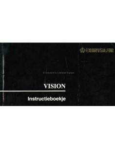 1993 CHRYSLER VISION BETRIEBSANLEITUNG NIEDERLÄNDISCH