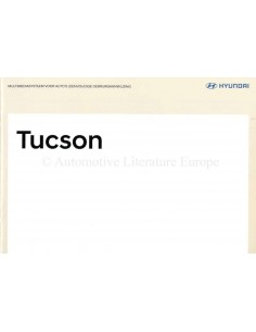 2018 HYUNDAI TUCSON (IX35) OWNERS MANUAL HANDBOOK DUTCH