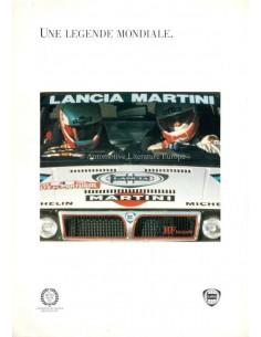 1993 LANCIA DELTA BROCHURE ITALIAN