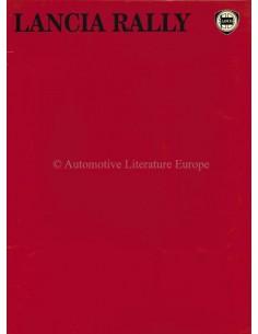 1983 LANCIA RALLY (037) PRESSEMAPPE ENGLISCH