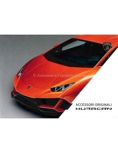 2019 LAMBORGHINI HURACAN ACCESSORIES HARDBACK BROCHURE ENGLISH