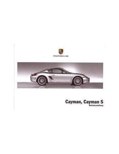 2008 PORSCHE CAYMAN & S INSTRUCTIEBOEKJE DUITS