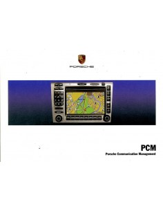 2006 PORSCHE PCM OWNER'S MANUAL GERMAN