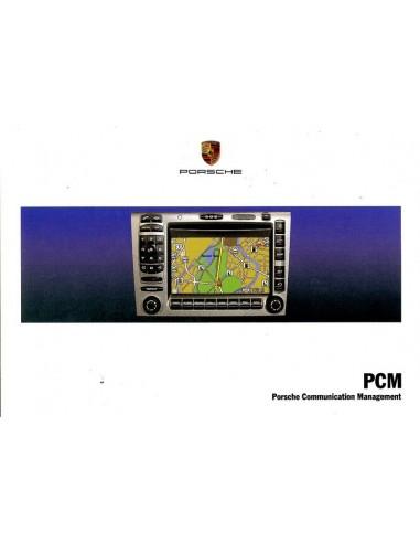 2006 PORSCHE PCM INSTRUCTIEBOEKJE DUITS