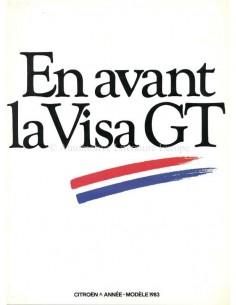 1982 CITROEN VISA GT BROCHURE FRENCH