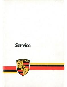 1980 PORSCHE SERVICE BETRIEBSANLEITUNG