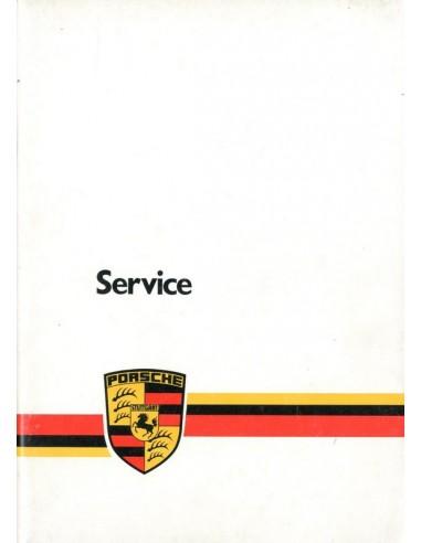 1980 PORSCHE SERVICE INSTRUCTIEBOEKJE