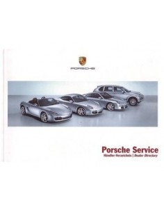 2007 PORSCHE SERVICE INSTRUCTIEBOEKJE
