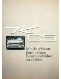 1984 OPEL MONZA KEINATH KC5 BROCHURE GERMAN