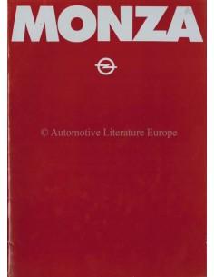 1980 OPEL MONZA BROCHURE ENGLISH (US)